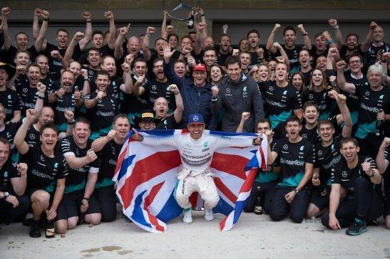 Lewis Hamilton - Champion