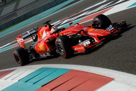 TEST ABU DHABI F1/2015