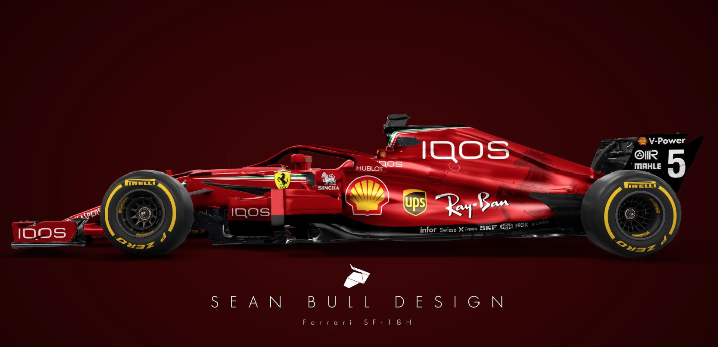 formula one scuderia ferrari iqos jwgp. Black Bedroom Furniture Sets. Home Design Ideas