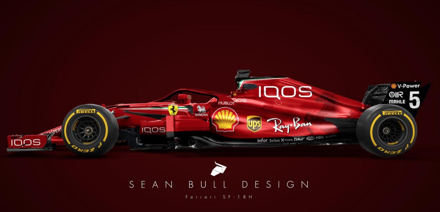 Formula one scuderia ferrari iqos jwgp for Iqos nuovo modello